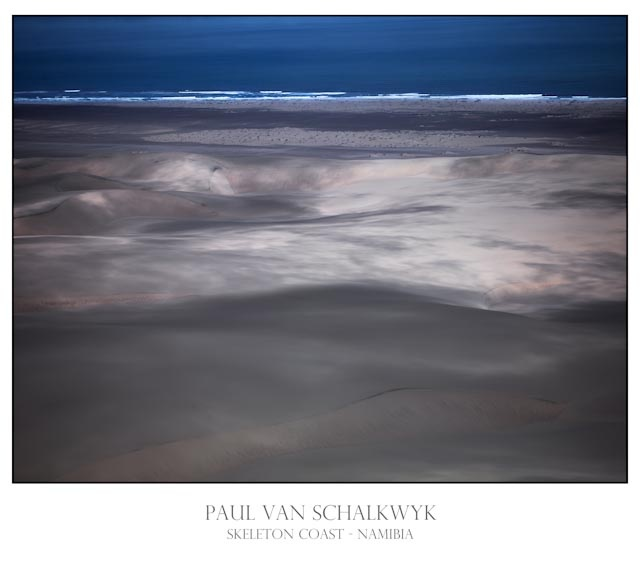 Aerial images taken over the Skeleton Coast by Paul van Schalkwyk