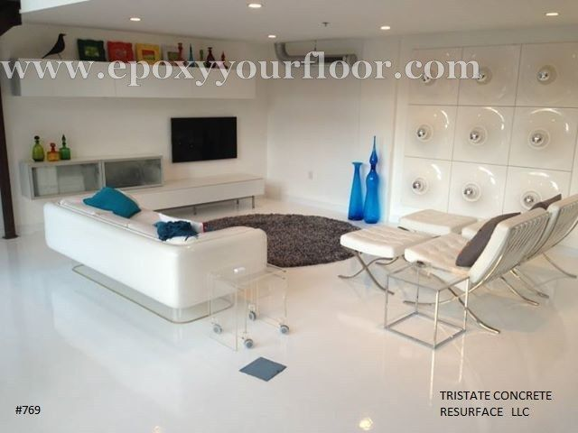 A Designer Epoxy Floor Reflector, Shinny Floor System By TriState Concrete  Resurfacing Www.tristatepictu