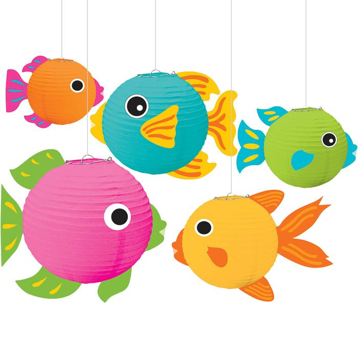 17 best images about vbs 2016 on pinterest paper for Fish paper lanterns