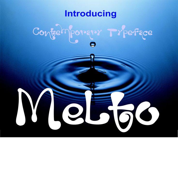 Melto by MARSOSE on @creativemarket