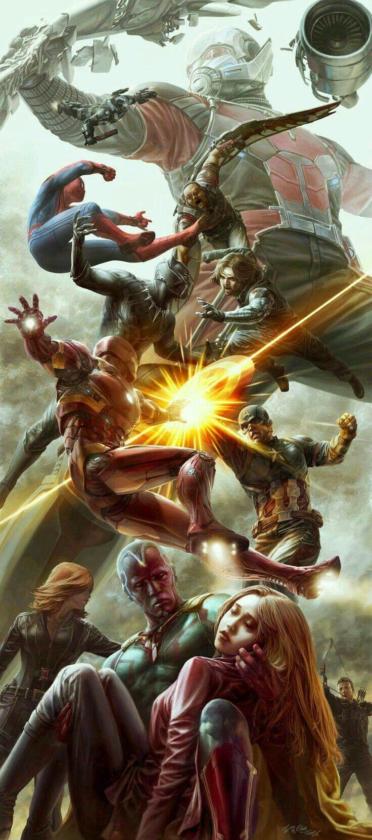 Os Vingadores, avante pra porrada!
