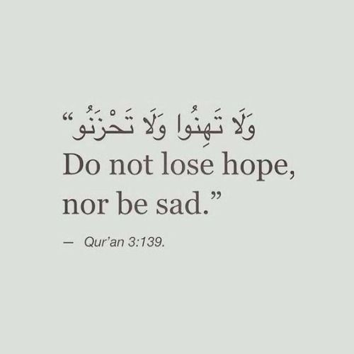 """Indeed you will be victorious;"