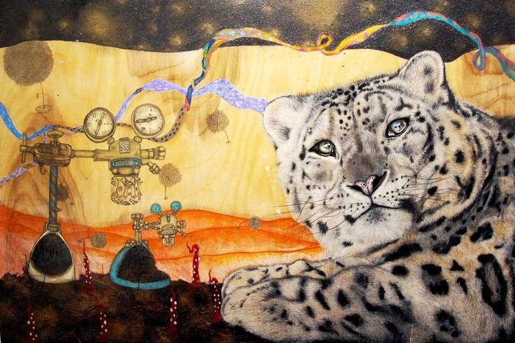 Sarah Tse, The Snow Leopard, Reverie | Artify Gallery