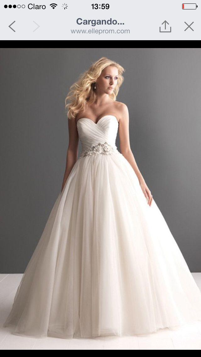 16 best Vestidos novia images on Pinterest | Boyfriends, Bridal ...