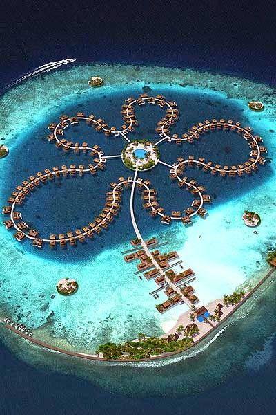 The Ocean Flower Hotel, Maldives