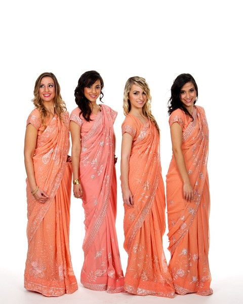 Indian Wedding Bridesmaid saris from on Saris and Things that you can buy or rent!
