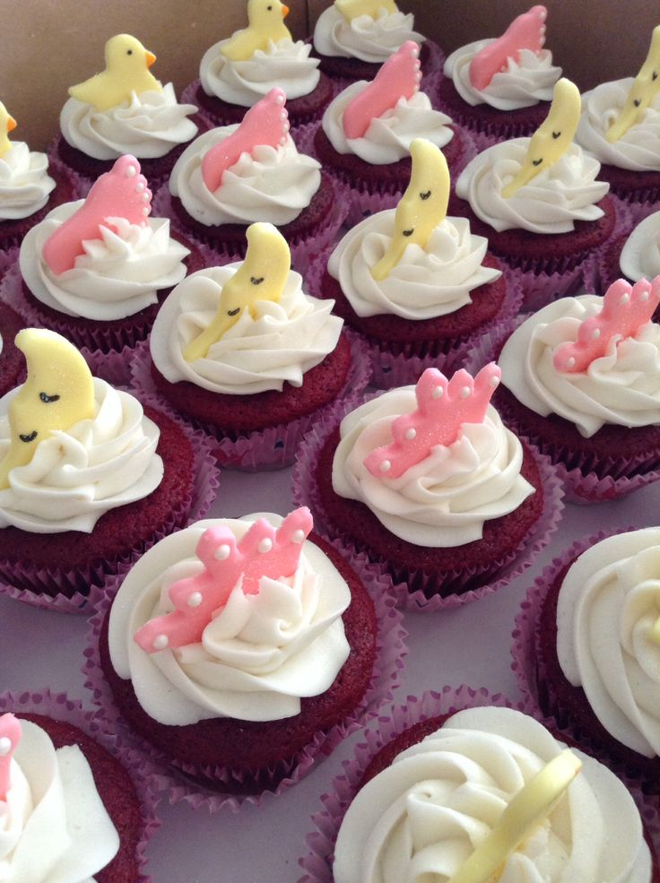 It's A Girl! Baby Shower cupcakes...part 1