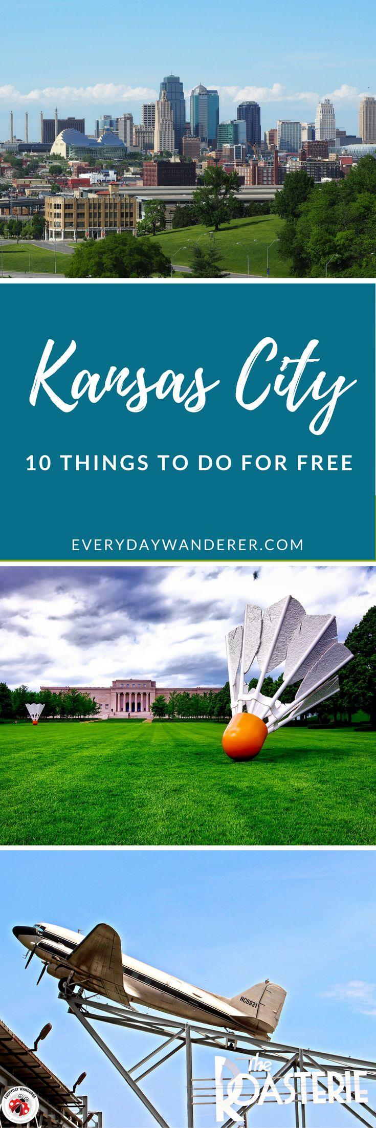 10 things to do and see for FREE in Kansas City #travel #kansascity #kcmo #visitkc #mwtravel #howwedokc #missouri #kansas