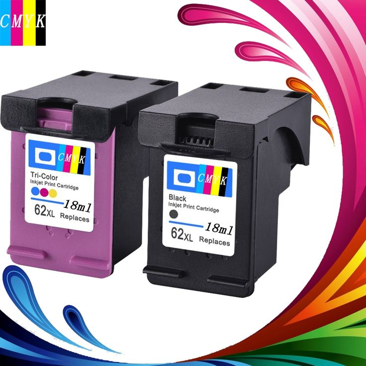 29.36$  Watch here - http://aliyic.shopchina.info/go.php?t=32812823976 - Hisaint Hot Toner Cartridge For HP 62XL Replacement Compatible Ink Cartridges 2 Pack(1 Black 1Tri-color) ENVY 5640, ENVY 5642 29.36$ #buychinaproducts