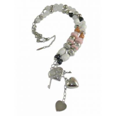 Jewellery :: Fashion :: Long beaded charm necklace - $36
