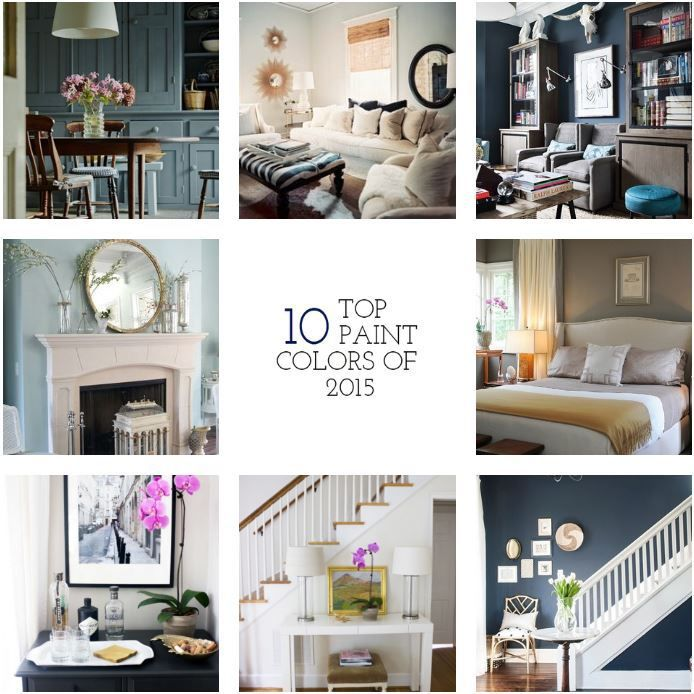 top 10 paint colors of 2015 top paint colors and doors