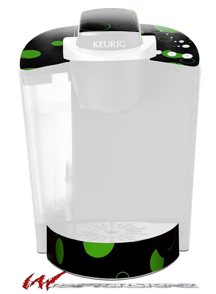 Lots of Dots Green on Black - Decal Style Vinyl Skin fits Keurig K40 Elite Coffee Makers (KEURIG NOT INCLUDED) ** Check out this great image  : Coffee Tea Espresso