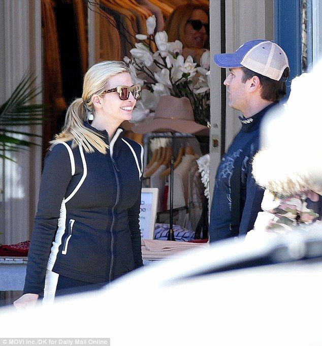 Ivanka is all smiles as she shops in Aspen with Donald Trump Junior and Vanessa Trump on S...