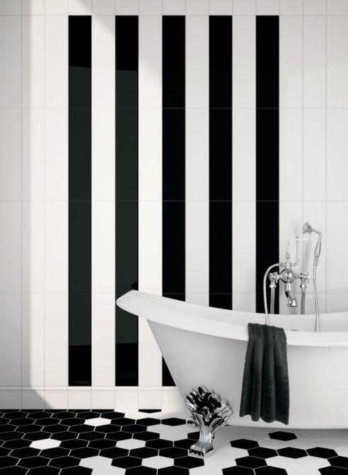 Déco, tendances et plus encore. Des nouveautés qui nous inspirent en septembre 2013. Les tuiles de salles de bain.