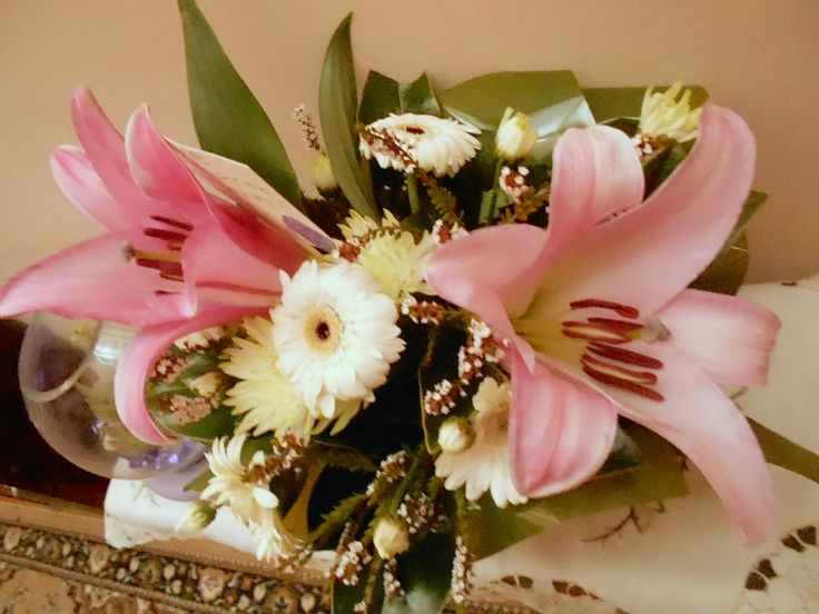 Beautiful gift of flowers