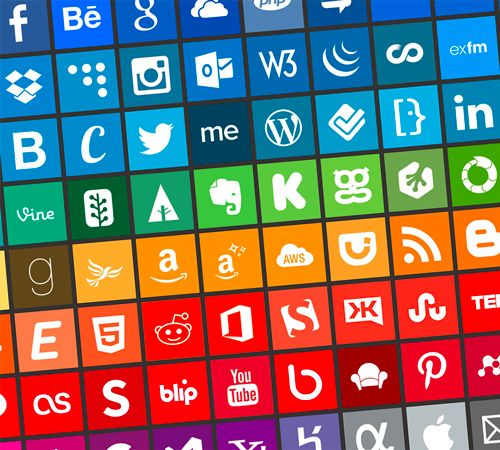Today, we are happy to feature a useful icon set, the Simple Icons by Dan Leech. Dan's set contains 100 PNG icons for popular websites, apps and organisations, all in eleven sizes (16, 24, 32, 48, 64, 128, 256, 512, 1024, 2048 and 4096 pixels squared). - Smashing Magazine - March 2013