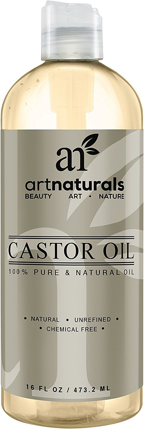 Art Naturals 100% Pure Castor Oil 16 oz - Best Massage Oil and Moisturizer for Hair and Skin * To view further for this item, visit the image link.