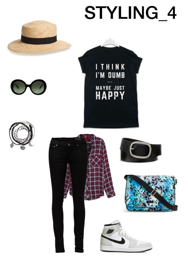 STYLING_4 (SUMMER) by alyants-stylist on Polyvore featuring мода, Rails, Yves Saint Laurent, NIKE, Vera Bradley, Prada, Mixit and BP.