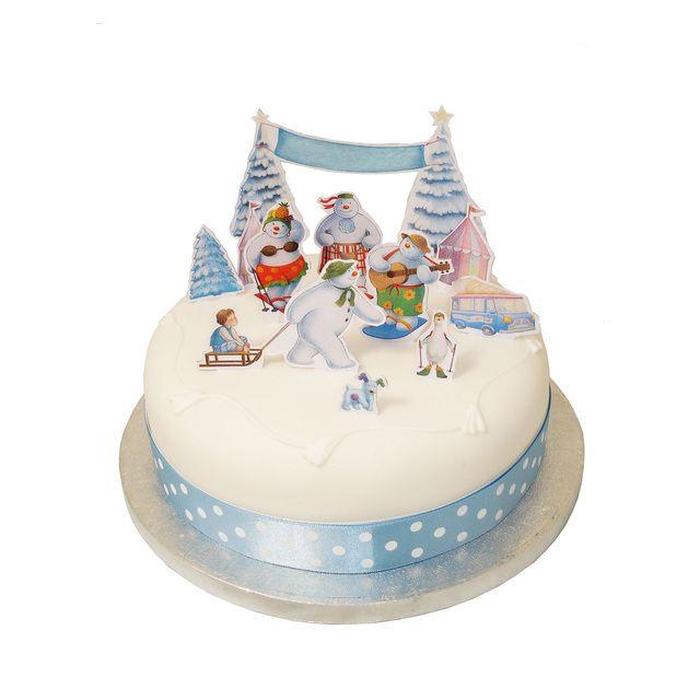 Christmas Cake Decoration Kit : 43 best Snow Dog images on Pinterest Raymond briggs ...