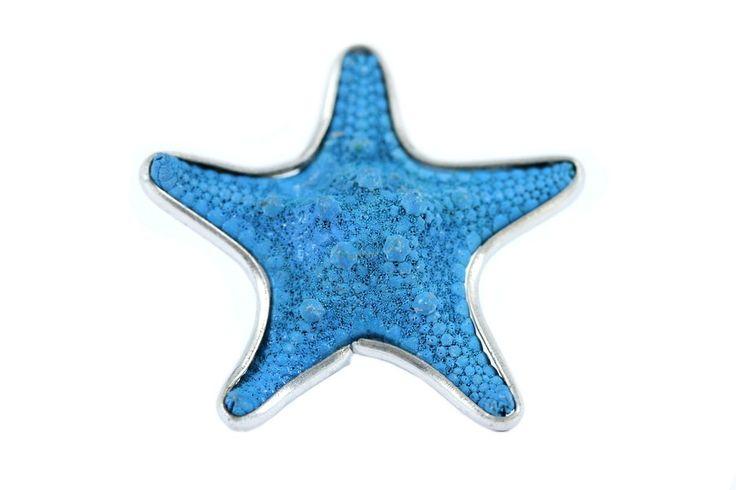 """""""Bague étoile de mer Azur""""-Bague originale pour fille"""