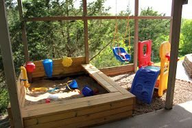 Between 3 Sisters: The Under Deck Sandbox and Playground