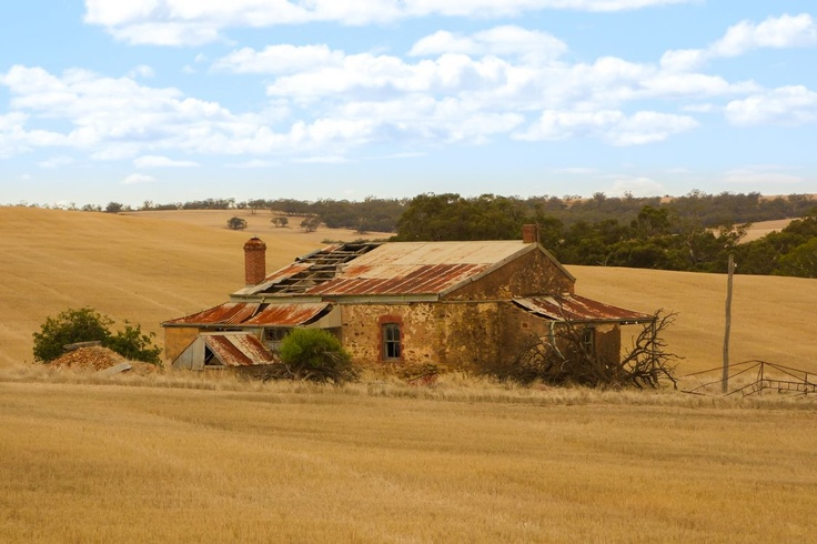 Ruined house, between Murraytown and Melrose.