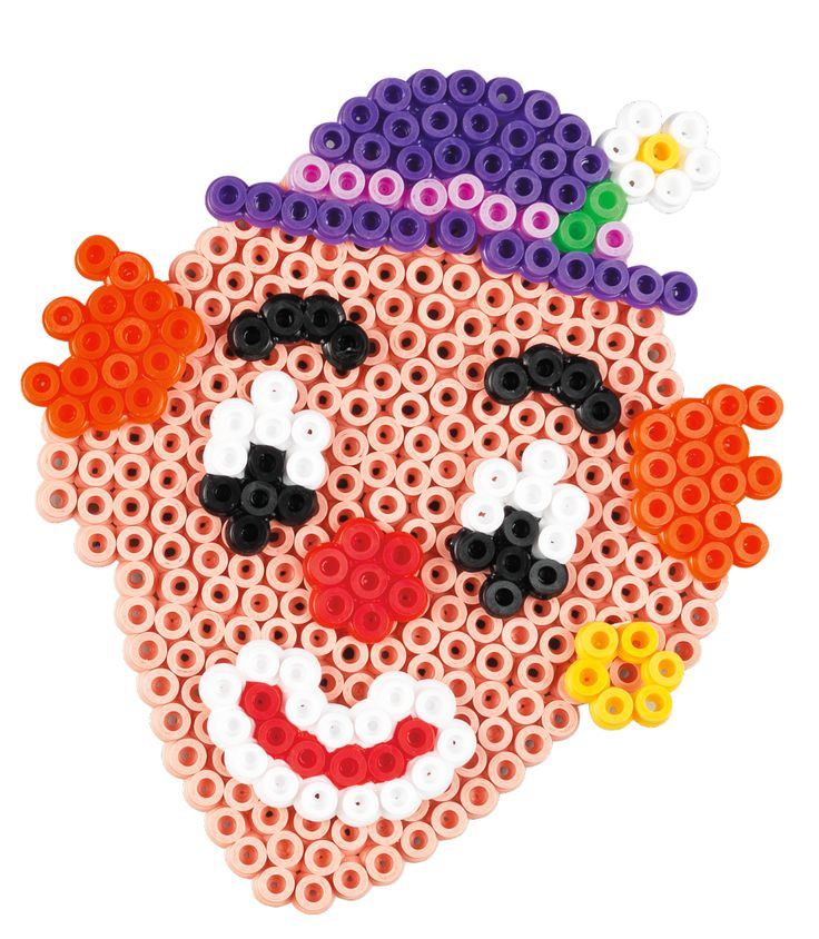Clown Hama beads - Funny Face 3232 - HAMA
