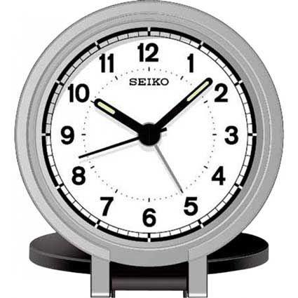 Seiko QHT011KLH Nebo II Travel Alarm Clock