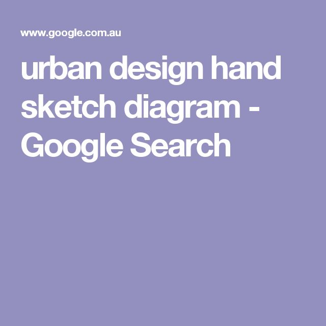 urban design hand sketch diagram - Google Search
