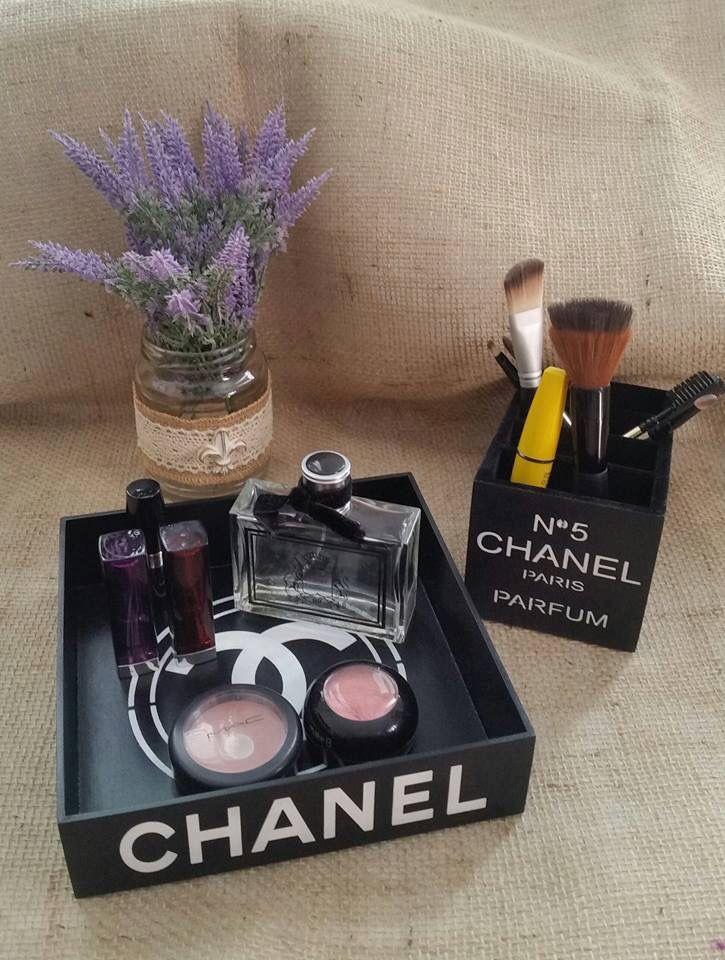 Bandeja/organizador Chanel by Arte-LaEmCasa
