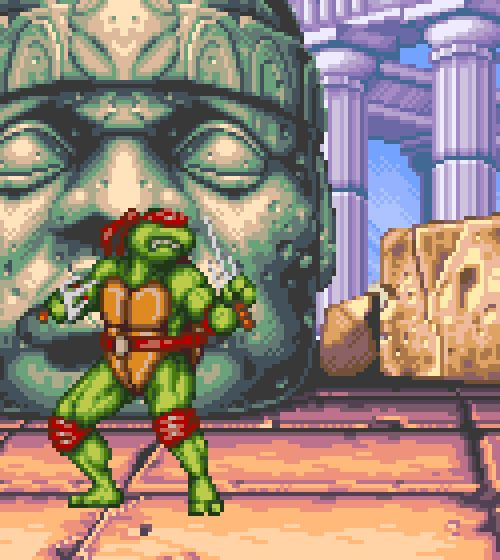 Teenage Mutant Ninja Turtles: Tournament Fighters, SNES.