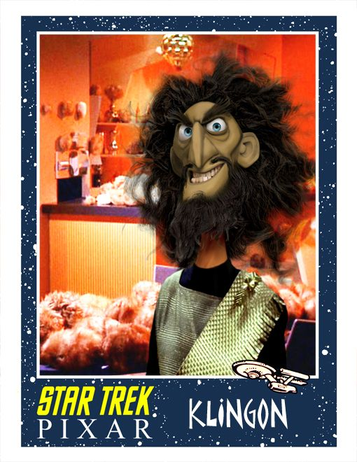 Pixar Style STAR TREK Fan Art -  GeekTyrant  (looks like this one was an extra in Brave!)