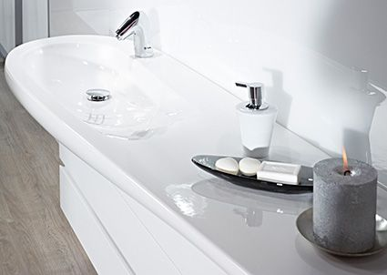 8514F Il Bagno Alessi One by Oras - Touchless wash basin faucet