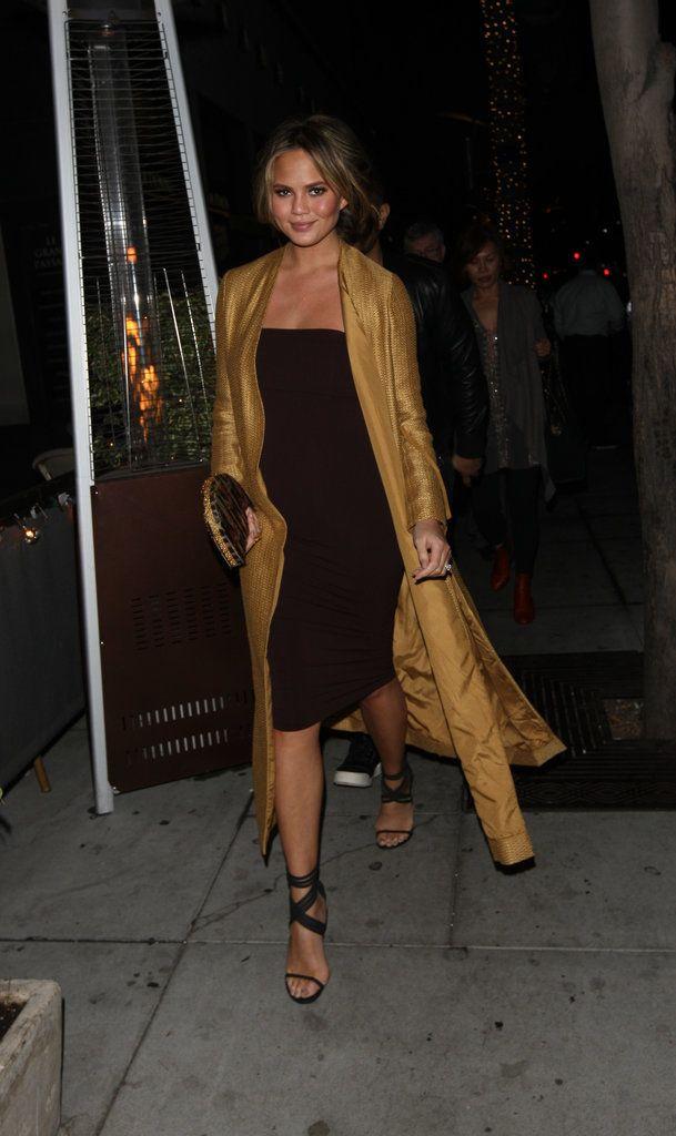 Chrissy Teigen's Sexiest Maternity Looks