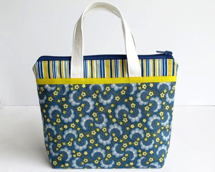 Ladies Handbag, Small Handbag, Bag with Zip, Floral Handbag, Cute Handbags, Bags with Pockets, Accessories Bag, Handmade Bags, Blue & Yellow by RachelMadeBoutique on Etsy https://www.etsy.com/au/listing/594664735/ladies-handbag-small-handbag-bag-with