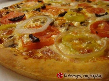 Ζύμη για πίτσα με παπαρουνόσπορο