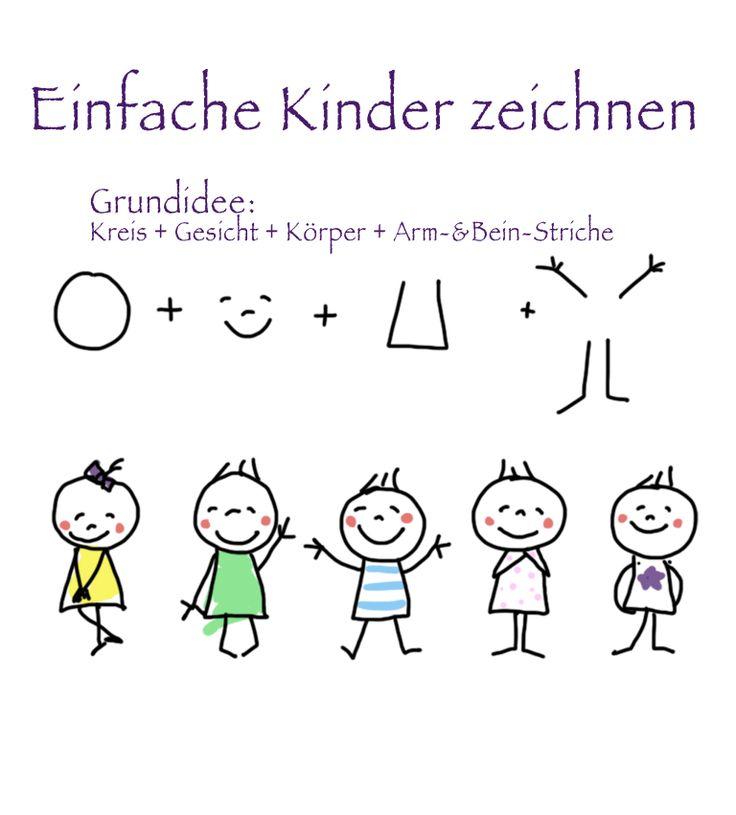 Menschen Zeichnen Grundschule