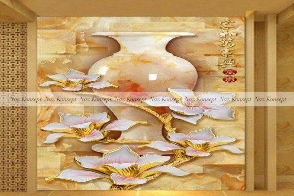 Vazo Temalı Duvar Kağıdı 15