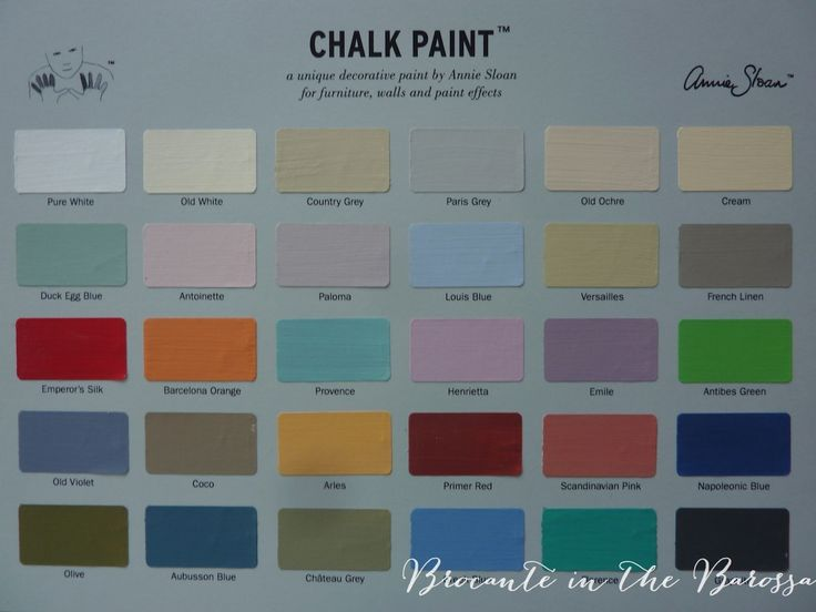 131 best colours of Chalk Paint by Annie Sloan images on