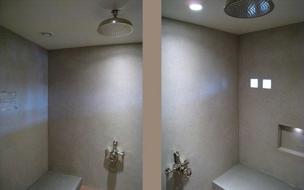 Steam and shower room - Tadelakt