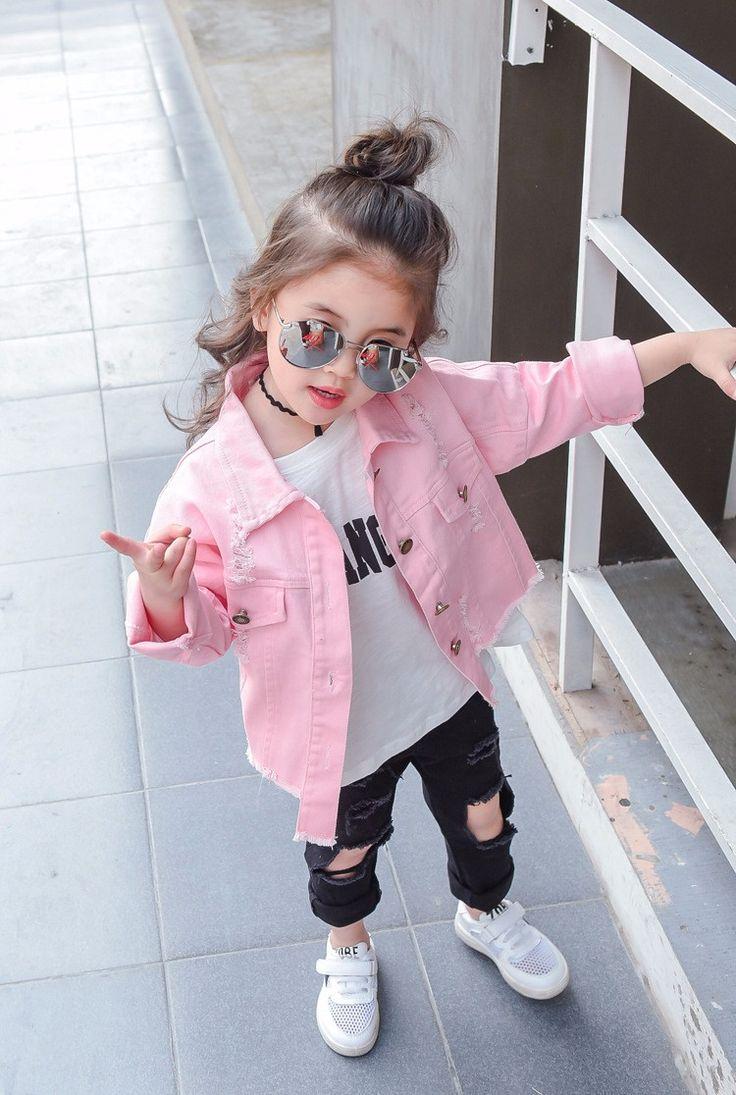 Fk7 2017 Kids Broken Denim White Red Pink Jackets Enzyme Washed Letter Printed Single Breasted 100 Cotton Jeans Wholesale Buy Kids Broken Denim Jacket Active [ 1095 x 736 Pixel ]