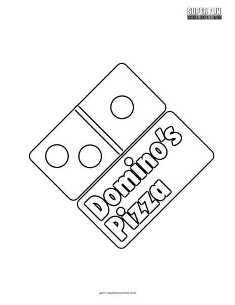 Domino's Pizza in 2019 Pizza coloring page, Pizza, Pizza