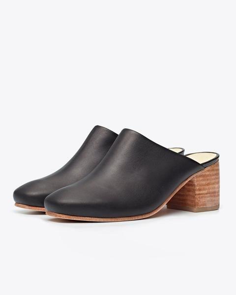 b704d46fe14 Women s Leather Heeled Mule