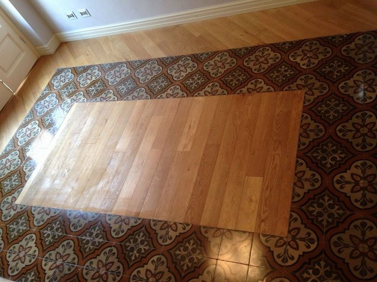 110 best images about pavimenti misti on pinterest do it yourself marbles and search - Parquet su piastrelle ...