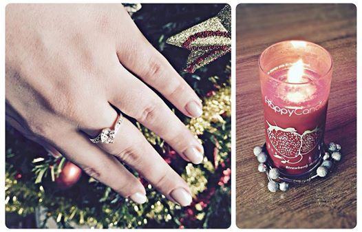 Wonderful ring Cristina found in her Strawberry Delight Candle! <3