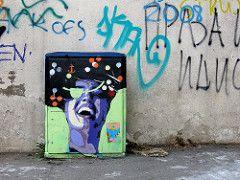 TKV (Walls of Belgrade) Tags: streetart graffiti stencil serbia belgrade beograd tkv