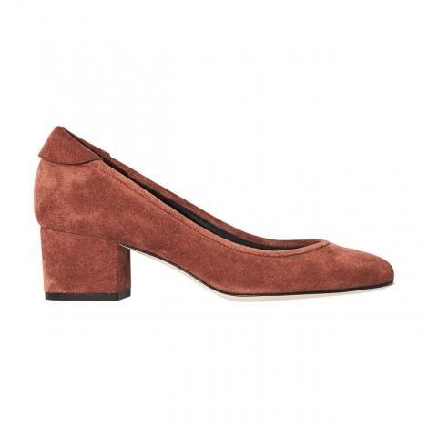 Yvonne Koné - Block Heel Pump Terracotta