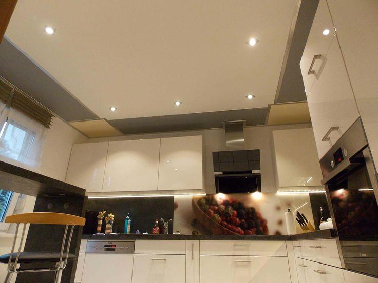 18 best Plameco Spanplafonds \/ Spanndecken \/ Stretched ceilings - abgehängte decke küche