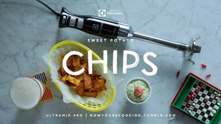 Now You're Cooking - Sweet Potato Chips on Vimeo