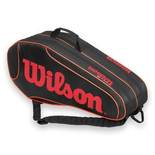 Bags 20869: *New* Wilson Burn Team 6 Pack Tennis Bag! BUY IT NOW ONLY: $44.95